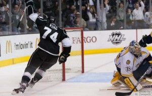 King scores vs nashville 03-2012 MZ