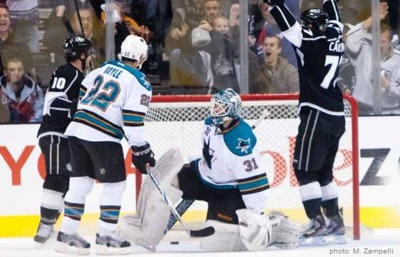 Richards scores LA Kings Sharks 