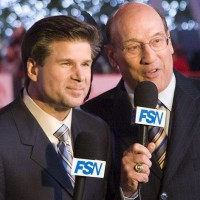 Bob Miller and Jim Fox – game one post-game show