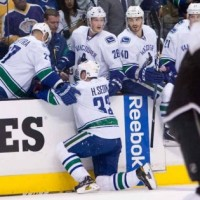 kopitar brown hit on sedin LA Kings MayorsManor