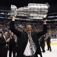 2012 Stanley Cup: On-ice interview with Ron Hextall