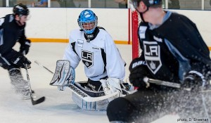 Gibson LA Kings camp MayorsManor