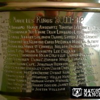 Stanley Cup MayorsManor Kings Doty Kopidor Doughty Kopitar
