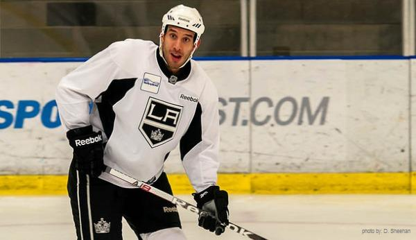 Dwight King of the LA Kings - MayorsManor photo by Sheehan
