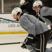 Kopitar and Williams LA Kings MayorsManor