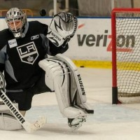 How the Kings' Jonathan Quick is skating through a lockout loophole
