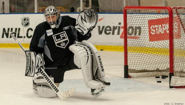 Jon Quick LA Kings TSC MayorsManor