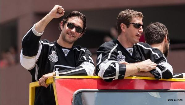 Stanley Cup parade Alec Martinez LA Kings MayorsManor