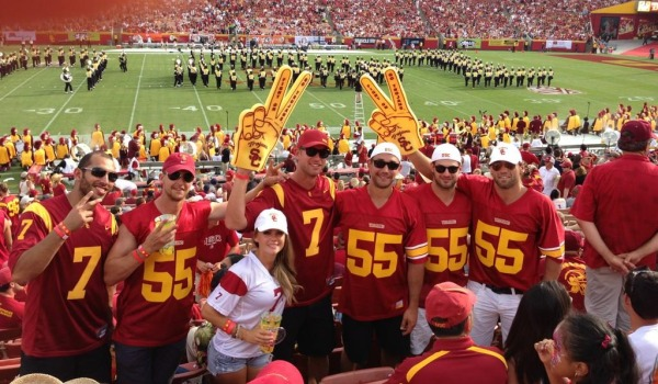 LA Kings USC football MayorsManor