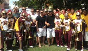 LA Kings USC band MayorsManor