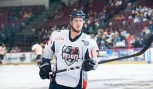 Clifford vs Bakersfield Condors Nov 24 2012
