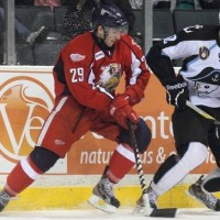 NHL Prospect Profile – Jon Davis with Red Wings' Landon Ferraro