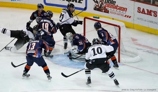 Ontario Reign at Wranglers ECHL MayorsManor