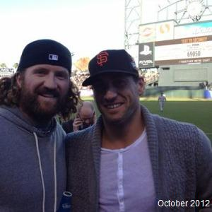 Jarret Stoll Giants World Series MayorsManor