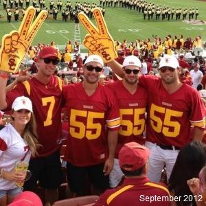 Jarret Stoll USC football LA Kings MayorsManor