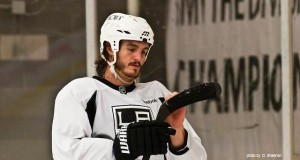 Kevin Westgarth LA Kings practice MayorsManor