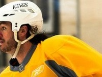 Westgarth LA Kings practice yellow jersey