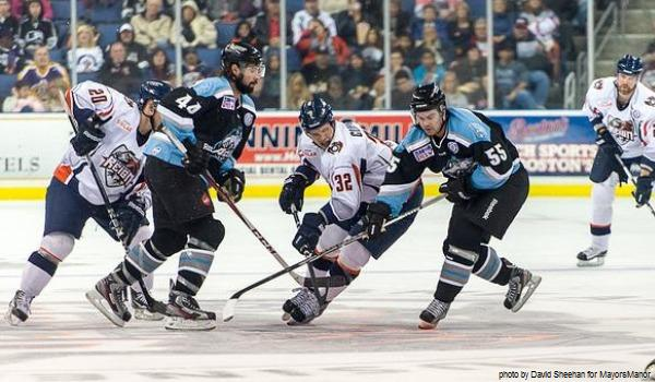 Kyle Clifford Ontario Reign v Alaska Aces Kings MayorsManor