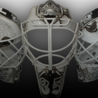 PICS: JF Berube's new mask pays tribute to LA Kings legends