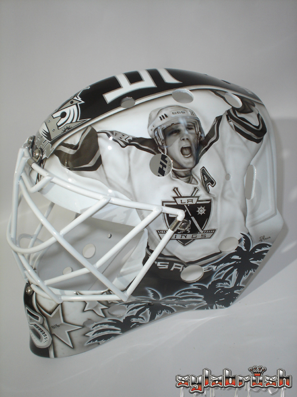 Berube 2013 mask Luc Robitaille Kings MayorsManor