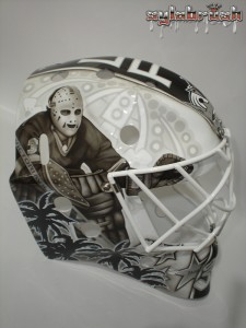 Berube 2013 mask Rogie Vachon MayorsManor Kings