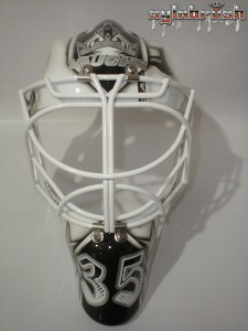 Berube 2013 mask front Kings MayorsManor