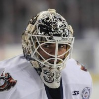 Berube goalie mask Kings MayorsManor