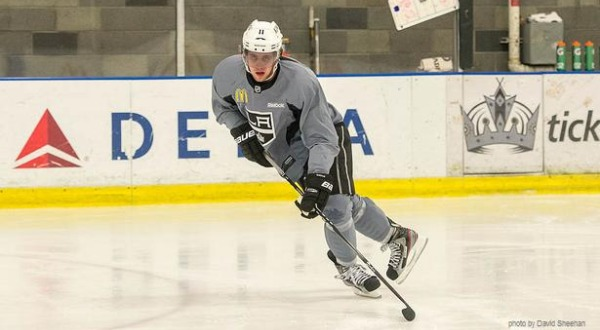 Anze Kopitar Kings training camp MayorsManor