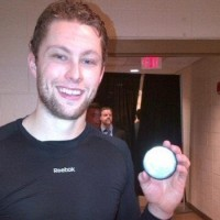 Kings rookie Jake Muzzin talks first NHL goal