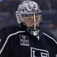 Jonathan Quick Kings opening night 2013 MayorsManor