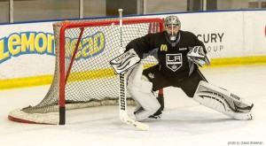 Quick LA Kings practice 01-2012