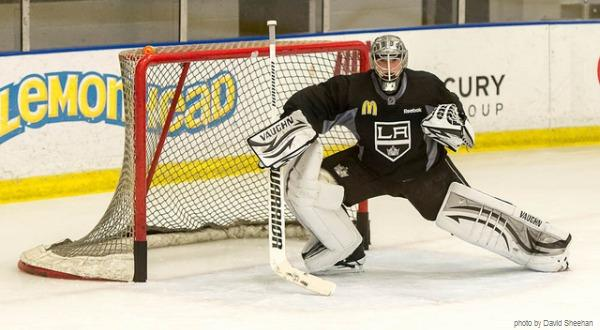 Quick LA Kings practice 01-2012 MayorsManor