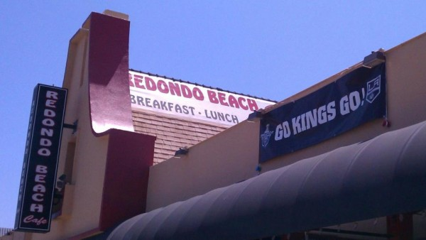 Redondo Beach Cafe hockey Kings