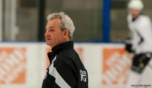 Darryl Sutter Kings practice MayorsManor