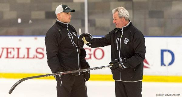 Coach Sutter Payne LA Kings NHL MayorsManor