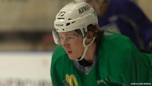 Tyler Toffoli LA Kings camp MayorsManor