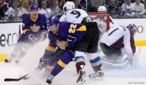 Avs at Kings - Feb 23, 2013