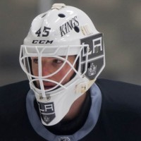 Hey Bernier, what's up with that mask you were wearing?
