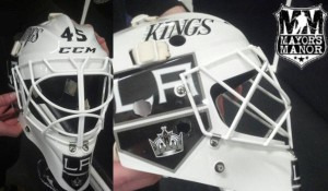 Bernier Kings new mask 2013