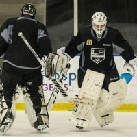 Bernier to start and Quick understands the situation