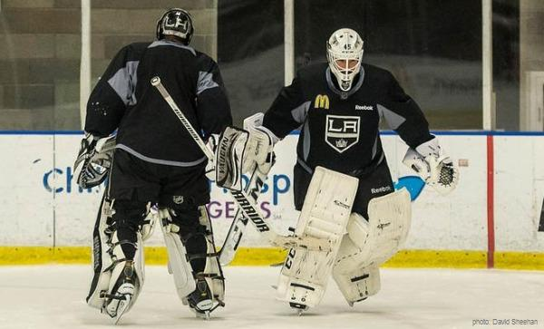Jonathan Bernier Quick Kings NHL MayorsManor