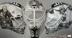 Beube LA Kings legends mask