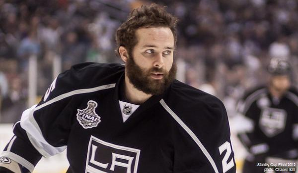Dustin Penner Stanley Cup Final 2012 Kings