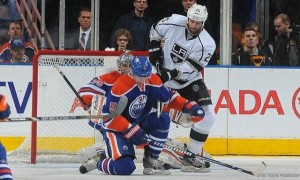 Penner Kings v Oilers 02-19-2013