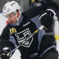Slava Voynov saying little with words, more with his actions