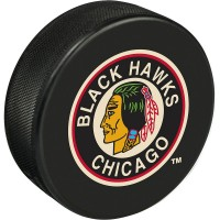 blackhawks puck