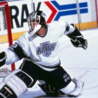 Hrudey in goal LA Kings