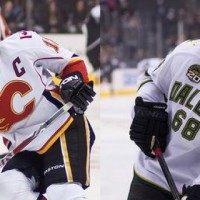 Jarome Iginla vs Jaromir Jagr MayorsManor Kings