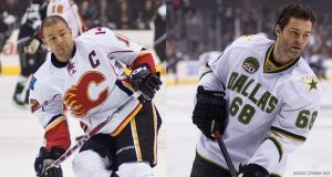 Iginla vs Jagr LA Kings