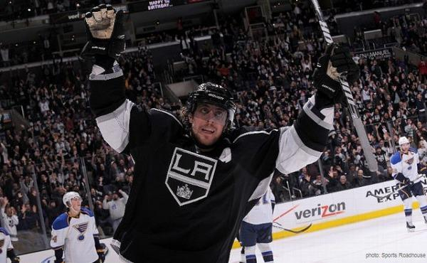 Anze Kopitar Kings Blues MayorsManor